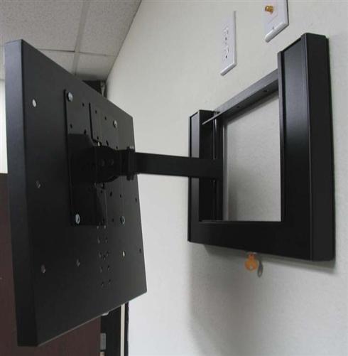 Lockable Tv Mount Anti Theft Brackets