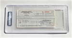 Tony Gwynn's 1995 *All-Star Game* Expense Check!