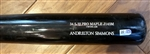 2017 Andrelton Simmons Los Angeles Angels Game-Used Bat