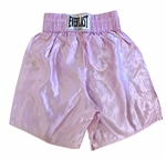Pernell Whitaker Circa 1997 Fight Worn Training Trunks Made By Everlast!