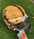 Rudy Carpenter's 2007 Arizona St. Sun Devils Game-Worn and Autographed Nike Helmet!