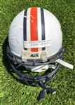Tim Carter's 2001 Auburn Tigers Game Worn & Autographed Football Helmet!