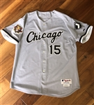 Sandy Alomar Junior's 2001 Chicago White Sox Game-Worn & Autographed Road Jersey!