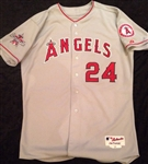Dan Haren's 2010 Anaheim Angels Game-Worn Jersey with *All-Star* Game Patch!