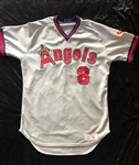 Bob Boone's Circa 1982-84 California Angels Road Jersey