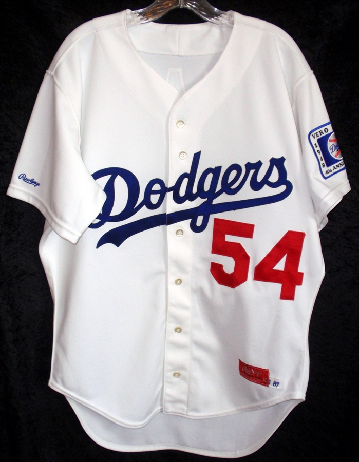 the best attitude 59329 de4d0 Tim Leary's 1988 L.A. Dodgers Game Used / Worn Jersey!!