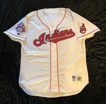 Jose Mesa's 1995 *All-Star* Game Cleveland Indians Game Worn & Autographed Home Jersey