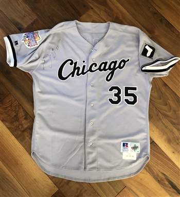 Frank Thomas 1996 Chicago White Sox Game –Issued and autographed All-Star Game Jersey!