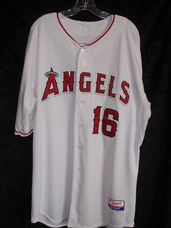 Garret Anderson's Los Angeles Angels Game-Worn Home Jersey