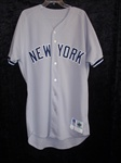 Kenny Rogers 1997 New York Yankees Game-Worn Road Jersey #17
