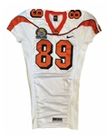 Joe Newton's #89 2006 Oregon St. Beavers Game Worn Sun Bowl Jersey!