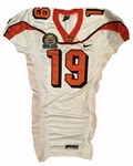 Sammie Straughter's 2006 Oregon St. Beavers Game Worn Sun Bowl Jersey!