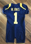 Marvin Jones Cal Bears Game-Worn NCAA Football Jersey #18 with Tons of use!