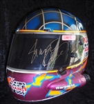 Shawna Robinson's Race-Worn Simpson Helmet with Custom Paint Job & Autographed!