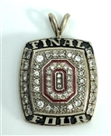 "2007 Ohio State Buckeyes Basketball ""Final-Four"" Team-Issued Pendant!"