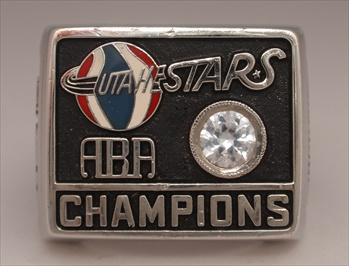 "1971 Utah Stars ""ABA"" World Champions 10K Gold Ring"