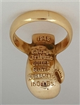 1948 Golden Gloves Boxing Championship 14K & Diamond Ring!