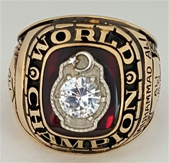 Muhammad Ali 1964 / '74 World Champion 10K Boxing Championship Ring!!!