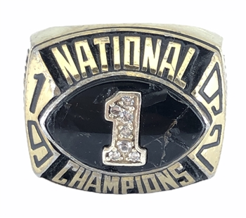 1992 Findlay Ohio Oilers NAIA Football National Champions Ring!