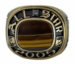 "2005 MLB ""All-Star Game"" 14K Gold-Plated Ring!"
