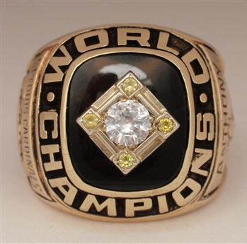 1967 St. Louis Cardinals World Series Champions 14K Gold & Diamond Ring!