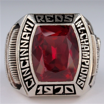 1970 CiCincinnati Reds World Series National League Champions 14K Gold Ring
