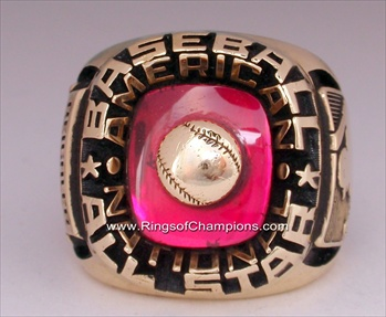 1976 MLB *All-Star* Game 10K Gold Ring {Very Rare}