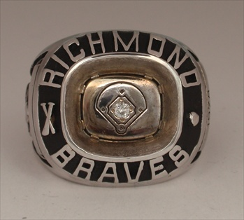 "1978 Richmond Braves ""Governors Cup"" Triple-A Champions Baseball Ring!"