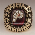 "1980 Philadelphia Phillies ""World Series"" Champions 10K Gold Ring"