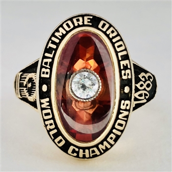 "1983 Baltimore Orioles MLB ""World Series"" Champions Ladies Ring!"
