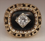 Carl Yastrzemski's 1983 Boston Red Sox 10K Gold Retirement Ring.