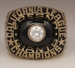 "1987 Fresno Giants ""California League"" Champions Baseball Ring!"