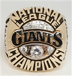 "1989 San Francisco Giants World Series ""National League"" Champions 10K Gold RARE Proto-Type Ring!"