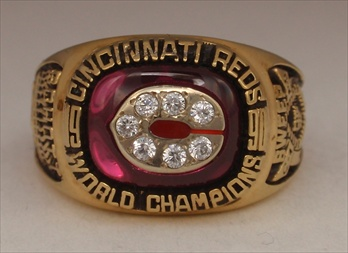 "1990 Cincinnati Reds ""World Series"" Champions Ladies Ring"