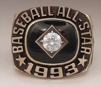 1993 MLB All-Star Game Ring.