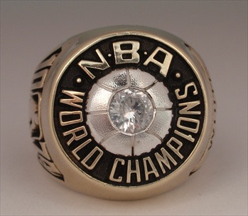 1974 Boston Celtics NBA World Champions 10K Gold Ring!