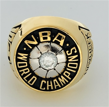 1976 Boston Celtics NBA World Champions 10K Gold-Plated Ring!