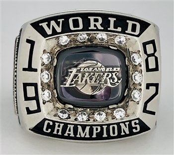 "1982 Los Angeles Lakers NBA ""World Champions"" Executive Version Ring!"