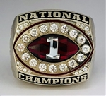 "2003 USC Trojans NCAA Football ""National Champions"" 10K Gold Ring!"