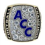 "2005 FSU Florida State Seminoles ""ACC Champions"" NCAA Football Ring!"