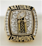 "2006 Florida Gators ""National Champions"" 10K Gold Ring!"