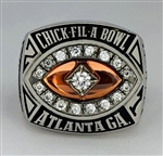 "2007 Clemson Tigers ""Chick Fil-A Bowl""  NCAA Football Championship Ring!"