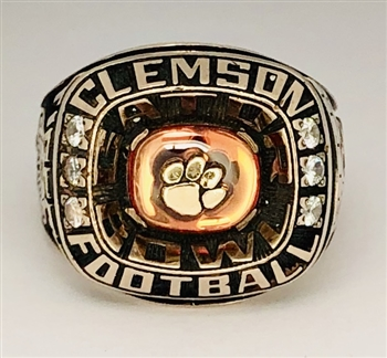 "2008 Clemson Tigers ""Gator Bowl"" NCAA Football Championship Ring!"