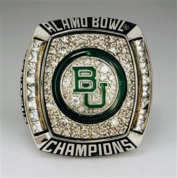 "2011 Baylor Bears ""Alamo Bowl"" Champions NCAA Football Ring!"