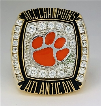 "2009 Clemson Tigers ""ACC"" Atlantic Div. NCAA Football Championship Ring!"