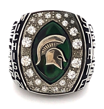 "2009 Michigan State Spartans ""Citrus Bowl"" Championship Ring!"