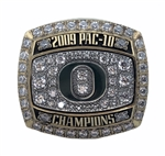 2009 Oregon Ducks PAC-10 Champions Football Ring!