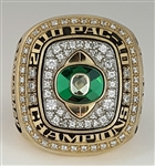 2010 Oregon Ducks Back-to-Back PAC-10 Champions Football Ring!