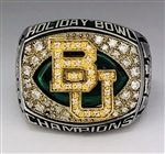 "2012 Baylor Bears 'Holiday Bowl"" Champions NCAA Football Ring!"