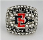 "2012 San Diego State Aztecs ""Mountain West"" NCAA Football Championship Ring!"
